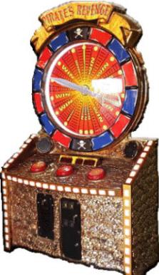 Pirates Revenge Jumbo Ticket Redemption Wheel Game From FiveStar Redemption
