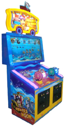 Pirate's Hook Arcade Videmption Game | UNIS / Universal Space