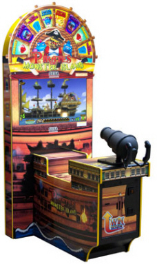 Pirates Of Monster Island Video Redemption Game From SEGA