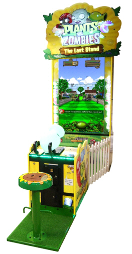 "Plants Vs Zombies Deluxe Arcade Videdemption Game - 60"" Model From SEGAega"