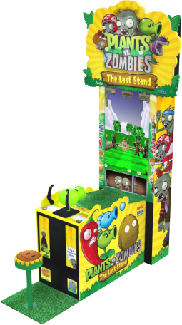 "Plants Vs Zombies Arcade Videdemption Game - 42"" Model From SEGAega"