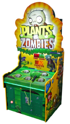 Plants Vs Zombies Arcade Redemption Hammer Game From SEGA