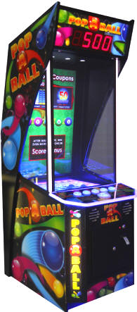 Pop A Ball Arcade Ticket Redemption Ball Video Game