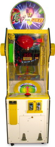 Pop It For Gold Balloon Pop Ticket Redemption Game From Benchmark