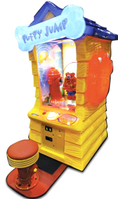 Puppy Jump Arcade Ticket Redemption Game - 2015 Model