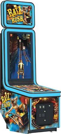 Rail Rush Ticket Redemption Video Arcade Game