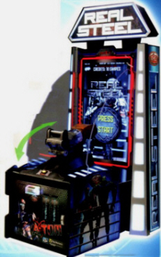 Real Steel Robotic Boxing Video Redemption Game From ICE Games