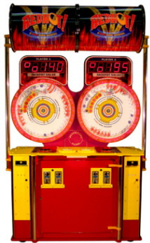 Red Hot 2 Player Ticket Redemption Ball Game From Benchmark Games