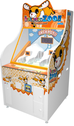 Redemption Zoo Caribou Ticket Redemption Video Game From Sega