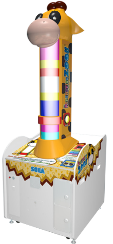 Redemption Zoo Giraffe Ticket Redemption Video Game From Sega
