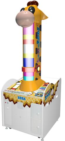 Redemption Zoo Giraffe Ticket Redemption Video Game From Sega