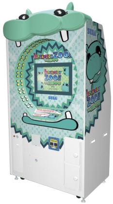 Redemption Zoo Hippo Ticket Redemption Video Game From Sega