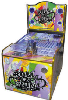 Roll To Win Single Player Coin Redemption Machine | By Smart Industries