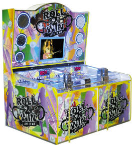 Roll To Win Deluxe Two Player Video Quick Coin Ticket Redemption Game By Smart Industries