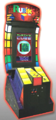 Rubik's Cube Ticket Redemption Video Arcade Game From Coastal Amusements