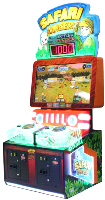Safari Rangers Arcade SD Videmption Game | UNIS / Universal Space