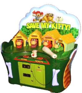Save My Kitty Ticket Redemption Hammer Game