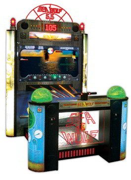 Super Sea Wolf 55 Video Arcade Game
