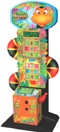 Sega Snakes and Ladders Ticket Redemption Game From SEGA