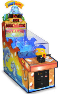 Sharky's Treasure / Sharkey's Ticket Redemption Game From Bob's Space Racers / BSR