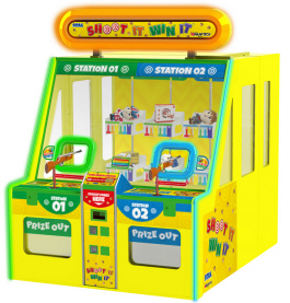 Shoot It Win It Prize Redemption Game From Sega Amusements
