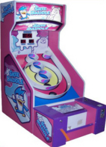 Skee-Daddle Alley Roller / Kids / Kiddie Arcade Machine By Skeeball Amusement Games