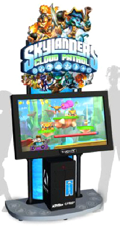 Skylanders Cloud Patrol Arcade Touchscreen Video Game From Adrenaline Amusements