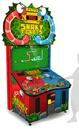Snaky Tickets Arcade Ticket Videmption Game From Adrenaline Amusements