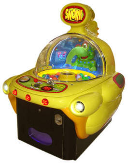 Snork Claw Crane Redemption Game From Family Fun Companies