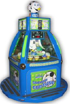 Soccer Fortune | Quick Coin Redemption Game | Kiddy Kruisin Kiddie Ride | Family Fun Companies