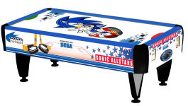 SEGA Sonic Sports All Stars 2 Player Air Hockey Table