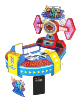 Space Ship Ticket Redemption Game From Sega
