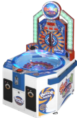 Spin-A-Rama Ticket Redemption Game From Sega