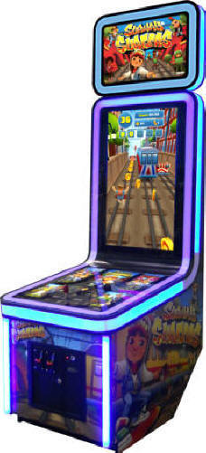 Subway Surfers Ticket Videmption Game From Coastal Amusements