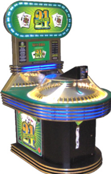 Super 21 Quick Coin Redemption Game Skee Ball Amusement Games