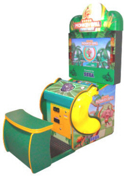 Super Monkey Ball Ticket Blitz |  Arcade Cabinet - Ticket Video Redemption Game From SEGA