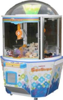 Super Scooper Crane Redemption Game From Namco
