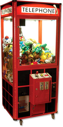 Telephone Crane Game Redemption Machine