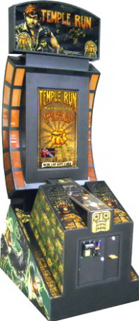 Temple Run Arcade Gift Card Videmption Game