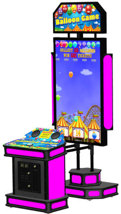The Balloon Game Arcade Ticket Videmption Game From Coastal Amusements