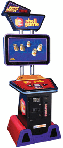 The Price Is Right Shell Game Ticket Redemption Video Arcade Game From ICE Games