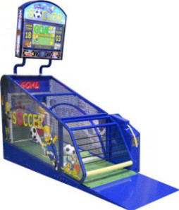 The Simpsons Soccer Ball-Kicking Ticket Redemption Game