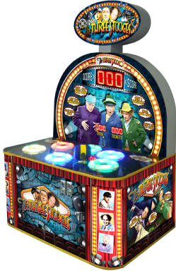 The Three Stooges Arcade Hammer Redemption Game