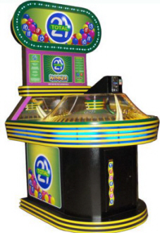 Total 21 Quick Coin Redemption Game By Skee-Ball Amusement Games