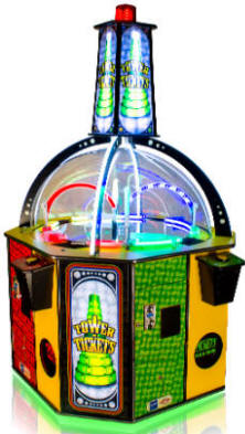 Tower Of Tickets Redemption Arcade Game From Baytek
