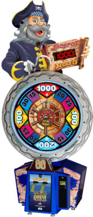 Treasure Quest Arcade Ticket Redemption Wheel Game | ICE