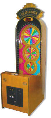 Triple Spin Ticket Redemption Game From Family Fun Companies