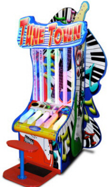 Tune Town | Piano Water Tube Bubble Ticket Redemption Game | From Bob's Space Racers / BSR
