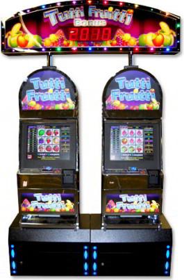 Tutti Frutti Video Slot Machine - Ticket Redemption Video Arcade Slots Machine Game