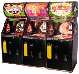 Wheel Deal 3 Player Quick Coin Roller Ticket Redemption Game From Benchmark Games